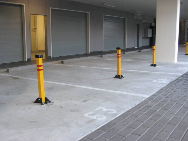 Parking Pivot Bollards